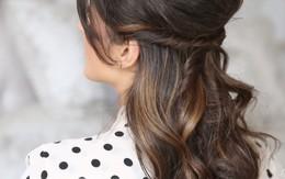 3 kiểu tóc nhanh gọn, điệu đà cho ngày trễ giờ làm