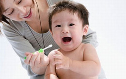 Thời điểm nên cho trẻ đánh răng?