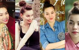 Thích mê những kiểu tóc ruột của Hà Hồ