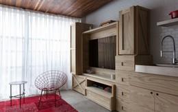 Ngắm căn hộ 25m² tuyệt vời trong từng chi tiết