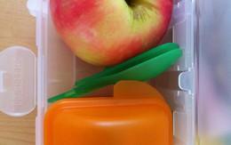 Món lạ cho bé: Cơm sữa trộn táo