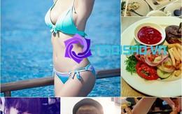 Những mỹ nhân thả phanh ăn đồ béo mà không hề tăng cân