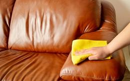 Mẹo giặt tẩy đồ dùng bằng da