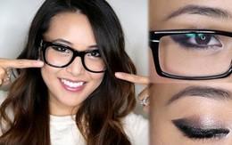 """Bí quyết make-up cho nàng """"bốn mắt"""""""