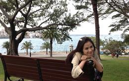Hoa hậu Diễm Hương du ngoạn ở Sydney