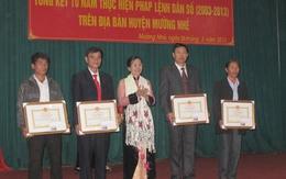 Điện Biên: Triển khai tổng kết 10 năm thực hiện Pháp lệnh Dân số tại tuyến huyện