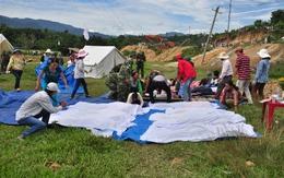 Hàng nghìn người ứng phó động đất ở thị trấn Trà My