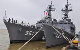 Ba tàu Tự vệ biển Nhật Bản cập cảng Tiên Sa
