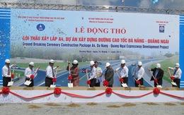 Xây dựng đường cao tốc Đà Nẵng – Quảng Ngãi