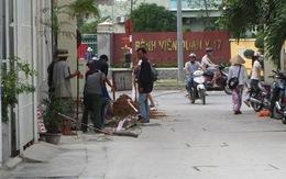 Nữ sinh bị tai nạn trên đường đi học