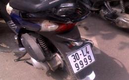 """Những biển số xe máy """"hàng tuyển"""" ở Hà Nội"""
