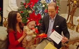 """Giáng sinh đầu tiên của """"Hoàng tử nhí"""" Anh Quốc"""