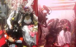 Lễ cưới dưới nước long lanh tại thiên đường Maldives