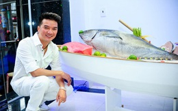 Ca sĩ Đàm Vĩnh Hưng bất ngờ đi bán... cá