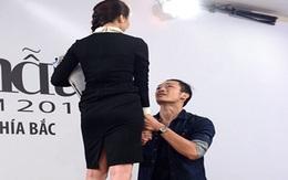 Hot boy Top Model hết ôm lại quỳ gối cầu xin Thanh Hằng