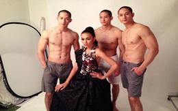 3 anh em đẹp trai gốc Việt khoe body quyến rũ