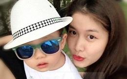 Cận mặt vợ con của Đăng Khôi