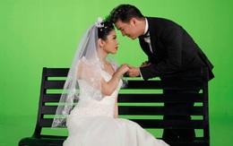 Lệ Quyên - Mr Đàm tung ảnh cưới 'hôn' nhau tình tứ