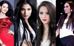 Người đẹp Việt dập dìu đi thi nhan sắc quốc tế