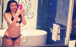 Trúc Diễm diện bikini 2 mảnh khoe body gợi cảm ở Thái Lan
