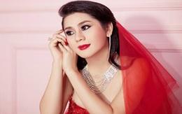 Lâm Chi Khanh xinh đẹp trong váy cưới đỏ rực
