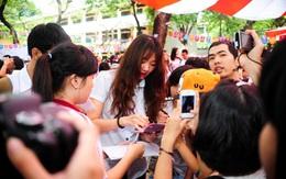 Bạn gái hot girl Hàn của Tiến Đạt bị fan Việt vây cứng