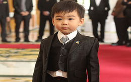 Ngắm hoàng tử bé trong đám cưới Á hậu Thùy Trang