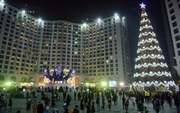 Cây thông Noel cao nhất Việt Nam ở Hà Nội