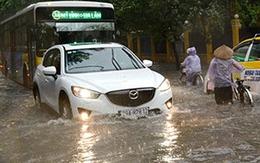 """Các tuyến phố Hà Nội nên """"né"""" vì ngập lụt"""