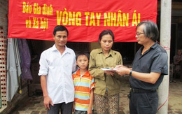 Trao quà đợt 2 tới cậu bé đói nghèo sắp mồ côi cả cha lẫn mẹ