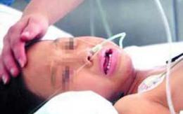 Bé gái 11 tuổi nguy kịch sau khi sinh con