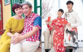 """Đời thực """"chồng Nam, vợ Bắc"""" của bà Vân - chủ phòng trọ tốt bụng phim """"11 tháng 5 ngày"""""""