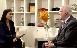 Bật mí nữ MC VTV từng phỏng vấn nhân vật quyền lực thứ ba của Mỹ