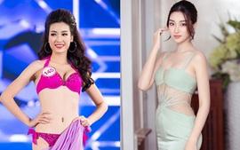 """Lật lại """"chiêu"""" giành vương miện của Hoa hậu của Đỗ Mỹ Linh, câu chuyện có liên quan số cân nặng"""