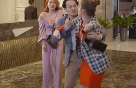 """Trói buộc yêu thương tập 13: Dung đến khách sạn đánh ghen khiến """"tiểu tam"""" suýt rách áo"""