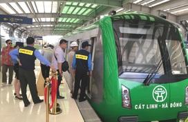 """Chạy thử tàu đường sắt Cát Linh – Hà Đông, dự án sắp """"về đích"""" vào đầu năm 2021?"""