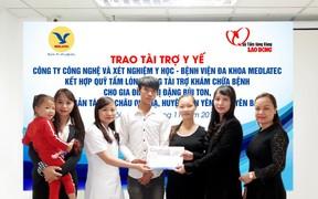 Vợ chồng người Dao mang gen bệnh tan máu bẩm sinh được hỗ trợ toàn bộ chi phí khám