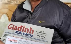 9 triệu đồng đến với gia đình người đàn ông nghèo bị ung thư bàng quang