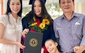 Á hậu Trịnh Kim Chi hạnh phúc giản đơn bên chồng doanh nhân và hai cô con gái thông minh, xinh đẹp