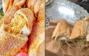 Đặt mua 'bánh mì siêu dừa', thành phẩm đến tay gây choáng váng: Lưa thưa vài hạt vừng, còn dừa 'tàng hình'