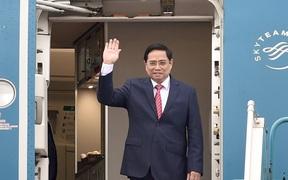 Chuyến công tác nước ngoài đầu tiên trên cương vị mới của Thủ tướng Chính phủ Phạm Minh Chính