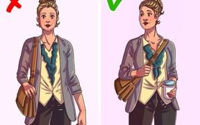 9 kiểu mang túi sai cách gây đau lưng