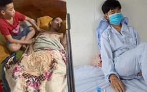 Xót xa cảnh bố vừa bị bệnh viện trả về vì không chữa được nữa, con lại phát hiện bị bệnh ung thư máu
