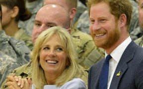 Đệ nhất phu nhân Mỹ hết lời ca ngợi Hoàng tử Harry