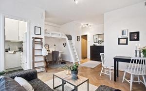 Thiết kế gác lửng đẹp như mơ cho nhà nhỏ hóa rộng thênh thang