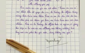 Con gái nuôi tiết lộ thư tay viết cho Phi Nhung, chi tiết nhắc đến Hồ Văn Cường gây chú ý