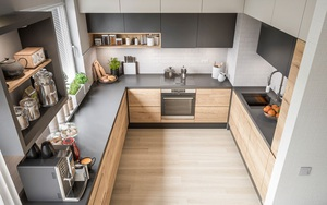 Chọn đúng tủ bếp thì bếp nhà bạn dù có nhỏ đến đâu cũng không cần lo
