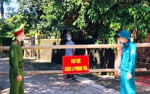 Thanh Hóa: 4 người trong gia đình dương tính với SARS-CoV-2