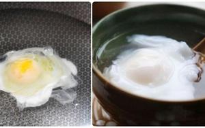 Chần trứng, thật sai lầm khi thả luôn vào nước sôi, thêm động tác này trứng ngon không sủi bọt