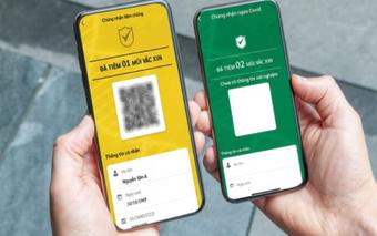 Tích hợp thẻ xanh COVID-19 với căn cước công dân như thế nào?